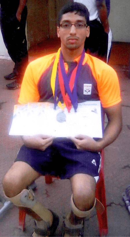 Parth Hindre National, Paralympics swimmer