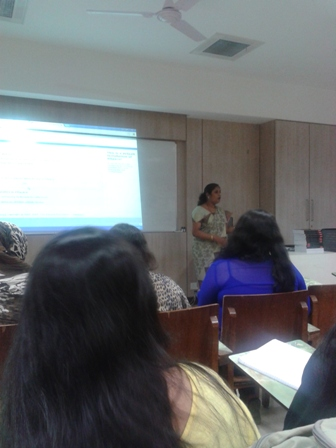 Lib. Orientation by Ms. Archana Garate