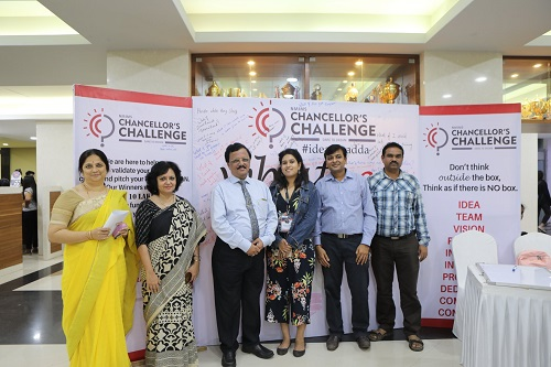 Launching of Chancellor Challenge 2018-19