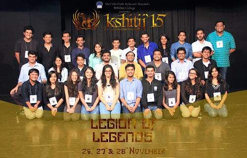 The Core Committee of Kshitij`15