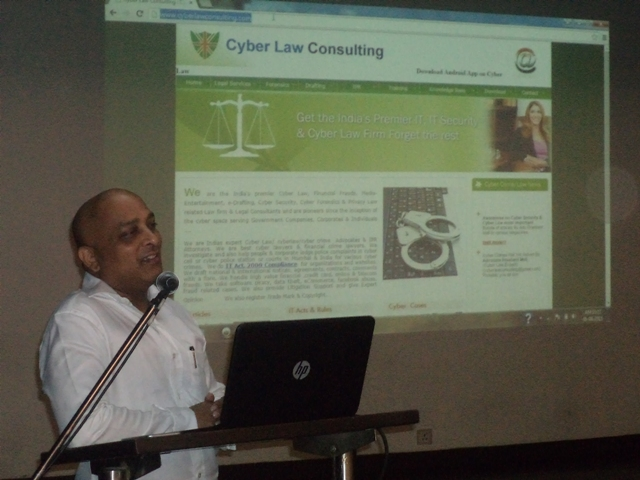 Session on Cyber Law